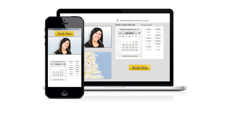 responsive booking system