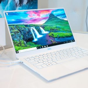 Dell XPS 13 (2019)displayed at CES 2019