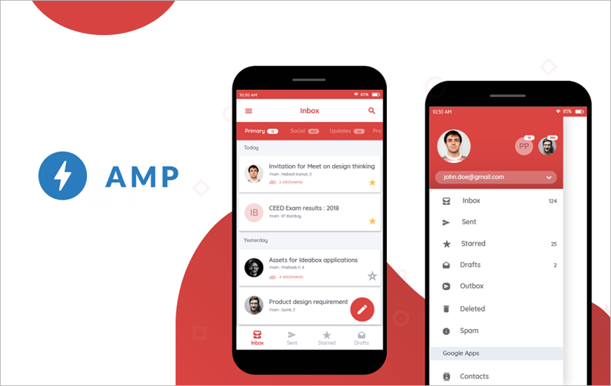 Gmail is About To Become Dynamic with Google's AMP for Email