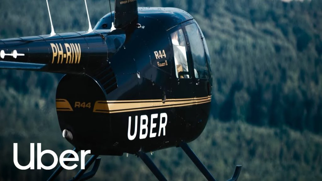 UberCopter; Uber Now Takes you to the Skies