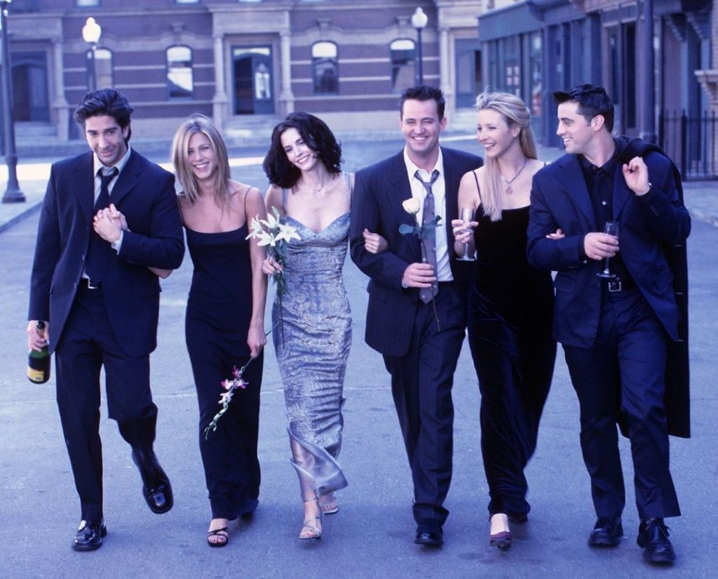 Here's How The World Celebrated FRIENDS 25th Anniversary