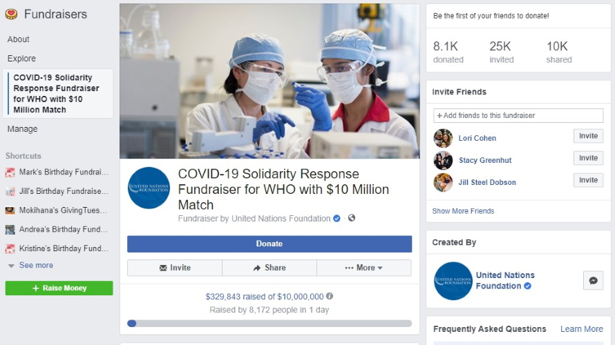 Tips for saying goodbye to Coronavirus through Social Media