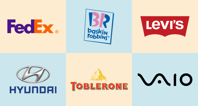 Top 6 Logos with Super Creative Hidden Meanings